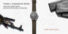 TRIWA   Humanium metal watch