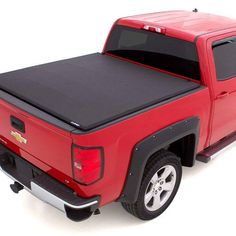 Tonneau Covers are manufactured to install easily and withstand the harshest elements while protecting and concealing the truck bed's contents as well as improving gas mileage. Best Tonneau Cover, Tri Fold Tonneau Cover, Truck Bed Covers, Profile Design, Lund, Flexibility, Weave, Engineering, Trucks