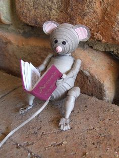 Week Twenty-Five: 3D Quilled Mouse