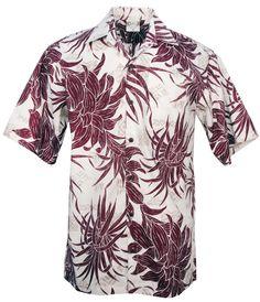 Wild Tapa Hawaiian Aloha Shirt in Red #stylefromachitownerseye  