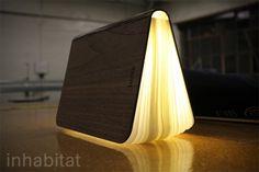 Inhabitat.com.  A lamp that folds up into a book