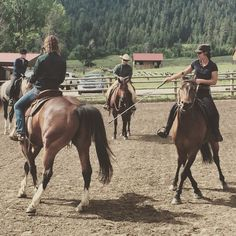 Sideways with a little help from your friends at the #Parelli ranch