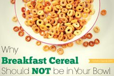 Why Breakfast Cereal Should NOT be in Your Bowl - Holistic Squid