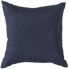 """Storm 22"""""""" Outdoor Pillow in Navy design by Surya"""