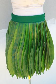Ready to ship- Ti Leaf Hula skirt, made with very real looking silk leaves, Polynesian costume skirt, Tahitian dance costume Disney Halloween Cruise, Tahitian Dance, Leaf Skirt, Hula Skirt, Amy, Festival Costumes, Dance Costumes, Skirt Fashion, Silk