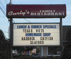 Curly's, Watkins Glen, NY.  Must eat if you live there or in the area.