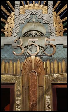 art deco building | Art Deco Architecture / Marine Building, Vancouver, Canada by ...