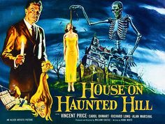 House on Haunted Hill - 1959 - Movie Poster