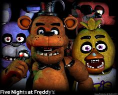 Five Nights at Freddy's - Poster by GamesProduction