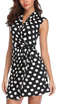 fbc505b2b06b jcpenney - Jessica Howard Sleeveless Polka Dot Shirt Dress - just bought  this dress for Derby! Also dark red ankle strap pointed toe heels!