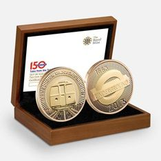 150th Anniversary of the London Underground 2013 UK Two Pound Gold Proof Two Coin Set