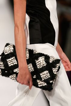Graphic #Accessories at the Academy of Art University show #MBFW