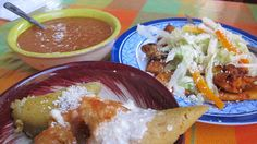 8 authentic Mexican dishes you typically won't find stateside: Corunda from Michoacan, triangular shaped are similar to the garden variety of tamale . . .