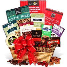 Christmas Gift Basket Classic™  #FREEShipping  #ChristmasGiftBasket #HolidayGiftBasket #Christmas #GiftBasket