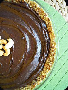 Gâteau chocolat-avocat, sans cuisson, sans gluten, sans lactose