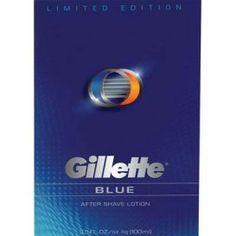 After Shave Gillette Profesionale. Men Shaving, Gillette Fusion, After Shave, Blue, Aftershave