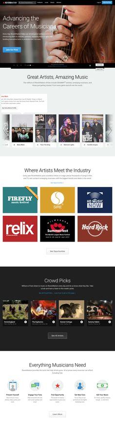 ReverbNation ti dà la possibilità di distribuire la tua musica, creare un sito web e la possibilità di vendere i biglietti dei tuoi concerti.  Molti gli strumenti per promuovere la tua musica anche sui social network.
