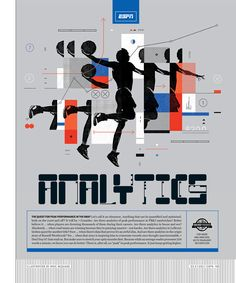 ESPN The Magazine / Analytics Illustration by Mike McQuade http://mikemcquade.com/ Using the Octobre font from Nouvelle Noire's Apeloig Type Library http://nouvellenoire.ch/