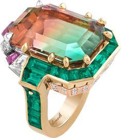 Van Cleef And Arpels Jewelry, Van Cleef Arpels, High Jewelry, Jewelry Rings, Purple Sapphire, Cocktail Rings, Summer Collection, Bracelet Watch, Vans