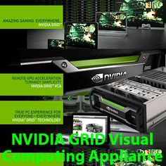The NVIDIA GRID™ Visual Computing Appliance (VCA) is a powerful GPU-based system which runs complex applications such as those from Adobe®, Autodesk and Dassault Systèmes, and sends their graphics output over the network to be displayed on a client computer