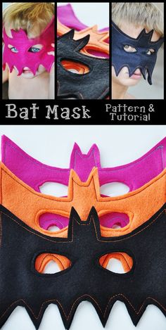Easy bat mask tutorial
