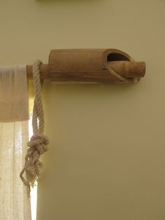 Bamboo Curtain Rod