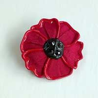 Made in Australia these poppies are handcrafted using quality silk, wool felt and Swarovski crystals. Poppy diameter approximately Poppy Brooches, Silk Wool, Book Gifts, Wool Felt, Poppies, Swarovski Crystals, Australia, Rings, Books