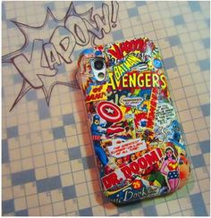 POW! 7 Colorful Comic Book Crafts