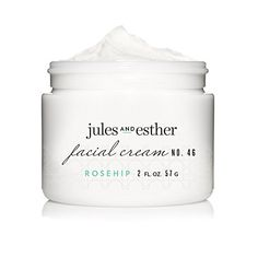 Jules and Esther Face Moisturizer  Rosehip Facial Cream Improves Radiance While Increasing Hydration  With Coconut Oil Aloe Hibiscus and Vitamins B3 B5 E and C  Natural and Organic ** Find out more about the great product at the affiliate link Amazon.com on image.