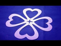 How to make easy simple paper cutting flower paper cutting how to make simple easy paper cutting flowers paper flowers design diy instructions step by step youtube mightylinksfo