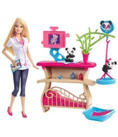 Barbie Careers Baby Sister Krissy Doll Set Nursery Crib