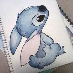 This is a picture of Stitch from Lilo and Stitch. This picture was drawn by Andrea Lee.