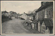 Mithian Village, Cornwall, c.1940s - Postcard