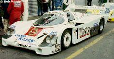 1 - Porsche 956 #104 - Warsteiner Team, Joest-Racing DRM Zolder Bergischer Löwe 1983