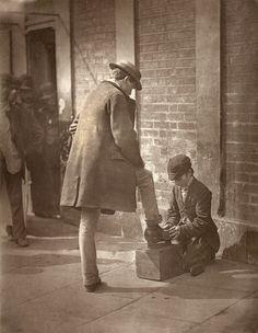 Лондонские типы второй половины 19 века