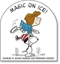 Magic On Ice Exhibition Sticker - Peppermint Patty