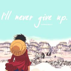 I'll never give up