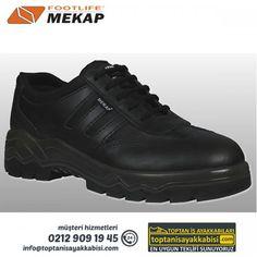 Mekap iş ayakkabısı 084 Tornado Siyah