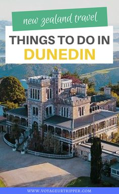 13 Things to do in Dunedin, New Zealand. Here's your expat's guide to planning a Dunedin vacation. I things to do in New Zealand I New Zealand travel I what to do in Dunedin I where to go in New Zealand I places to go in New Zealand I Dunedin travel I New Zealand destinations I destinations in New Zealand I New Zealand adventures I outdoor adventures in New Zealand I New Zealand outdoor adventures I places to go in Dunedin I #NewZealand Visit New Zealand, New Zealand Travel, Beautiful Places To Visit, Wonderful Places, Amazing Places, Amazing Destinations, Travel Destinations, Travel Tips, New Zealand Destinations