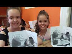 3D rajztanfolyam - Varázslatos Világ - Művészház Polaroid Film, 3d, Youtube, Youtubers, Youtube Movies