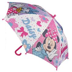 Paraguas ideal para ir protegido de la lluvia a cualquier sitio y siempre acompañado su personaje favorito.