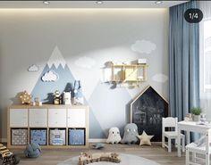 Toddler Room Decor, Baby Boy Nursery Decor, Toddler Rooms, Boys Room Decor, Baby Bedroom, Baby Boy Rooms, Kids Bedroom Designs, Baby Room Design, Small Playroom