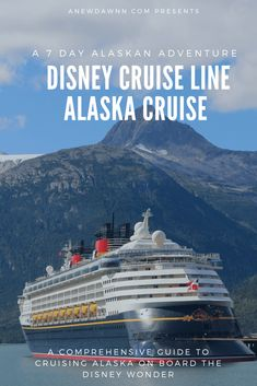 Everything you need to know about planning a Disney Alaska Cruise. This comprehensive guide will help you plan the perfect adventure onboard the Disney Wonder to Alaska. Cruise Tips, Cruise Travel, Cruise Vacation, Disney Travel, Disney Trips, Vacation Ideas, Homemade Bubble Recipe, Homemade Bubbles, Alaska Cruise