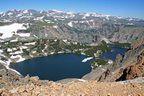 Trout Lake at Beartooth Pass