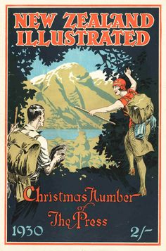 NZ Illustrated Xmas issue 1930 published by the Christchurch Press Company image Peter Alsop copy
