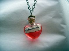 Amortentia love potion. Harry potter inspired. by JinxyJewels, $11.00