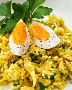 Low FODMAP Recipe and Gluten Free Recipe - Kedgeree