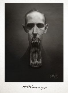 H.P. Lovecraft by David G. Forés (un tipo ilustrado)