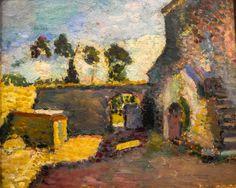 Henri Matisse - Corsica, Old Mill, 1898 at Wallraf-Richartz Museum Cologne Germany