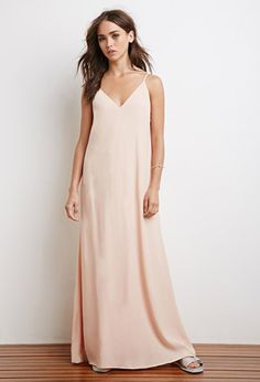 Lace-Up Back Maxi Dress | Forever 21 - 2000172690